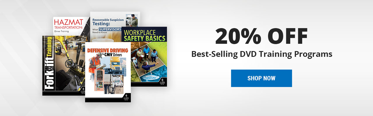 Save 20% on our top 5 DVD training programs. Limited time only.