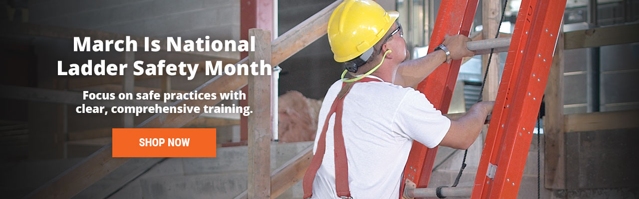 Focus on ladder safety practices with clear, comprehensive training.