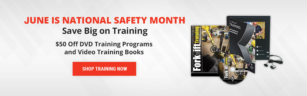 Buy 1 DVD Training, Get 1 Video Book Free for National Safety Month